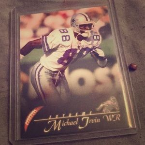 Cowboys Michael Ervin card